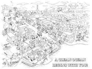 Culver City kids' coloring page