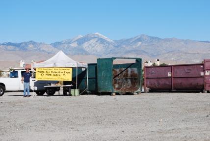 Desert Hot Springs tire event, 2012
